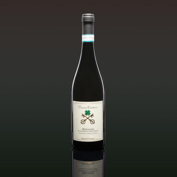 Malvasia di Castelnuovo Don Bosco D.O.C. Kirschenrot, Wilde Erdbeeren Bouquet. Süsslich und aromatisch am Gaumen. Weiches Perlage. Sehr kalt genießen. Gute Laune Wein Hören Sie sich die Beschreibung an